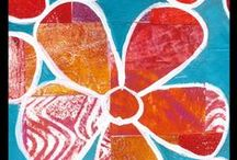 MonoPrinting Classes & Workshops with Gelli® Plates