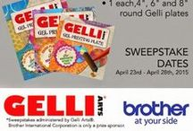 Art Blog Giveaways! / by Gelli Arts®