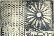 Found Gelli® Pins/Prints / Random Pins found on Pinterest about Gelli printing!