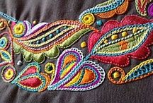 Ebroidery, embroidered....