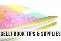 Gelli® Journals and Bookmaking Arts! / This board is for sharing all the beautiful hand crafted artist's books and journals that are created with the Gelli Arts printing plates and Gelli monoprints!