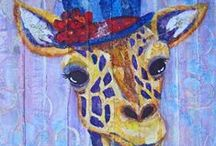 Giraffes and Printmaking :) / Giraffes are incredible creatures and there are many wonderful artists who love to showcase them. Here is our board to celebrate the wonderful prints of these amazing animals! / by Gelli Arts®