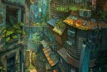 Illustration : paysage