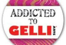 """Art Blogs WITH the """"Addicted to Gelli®"""" Badge! / This is a board for pinning all the places we find the Addicted to Gelli Arts Badge! If your blog has our badge on it - it should be pinned here!"""