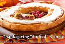 Thanksgiving Treats / Delicious treats dedicated to a wonderful food Holiday!