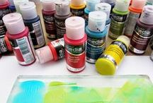 Paints for Gelli® Printing!