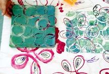 Stamping with Gelli® Printing Plates