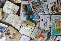 Art Journal / Sketchy / Journaux illustrés tous types sauf nature