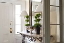 "Home Design ""Hallways and Hideaways"" / by J. Ennis Fabrics"