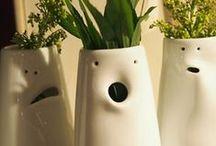 Céramique : objets / Vases, bols, coupes, coupelles... Objets utilitaires...