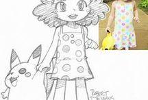 Illustration : crayon