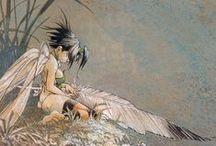 Illustration : contes et légendes