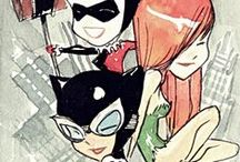 sirens / batman Gotham city sirens