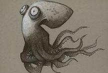 Illustration : animal (aqua)