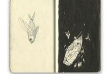 Art Journal / Sketchy 2 / Concerne la nature (faune et flore)