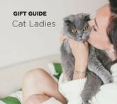 Gift Guide: Cat Lady / What do you get for the cat lady in your life this holiday season? Not another cat! Just pick an awesome present from this great gift guide designed just for the classy cat lady. You'll find cat fashion, toys, and more. This Christmas you'll put a smile on her and her furry friend's face.