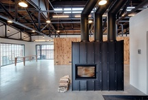 Uhelny Mlyn / Coal Mill / Architectural studio. industrial building.Reconstruction. wood. steel concrete