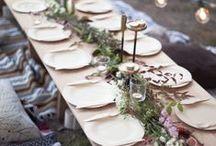 INSPIRATION / Wedding Table