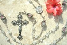 Mary & Rosaries / by Grandma Lace *