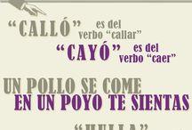 Hablar español !