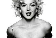 Marilyn Monroe and Roses / #Marilyn Monroe and #Roses