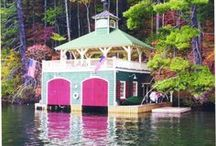 #KD- Garage Doors for Boats / Amazing Homes with Garage Doors to Dream About