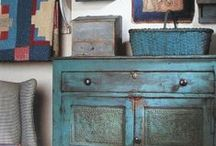 Colonial/Primitive Decor and Furniture / by Fran Gremaud