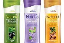 Shower oils / NOWOŚĆ - olejki Naturia Body pozwalają na jednoczesne mycie i pielęgnację suchej, podrażnionej skóry. Dzięki unikalnej dwufazowej recepturze nadają skórze wyjątkowe uczucie gładkości.