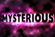 mysterious; / blog post http://nicolegalpern.net/post/88081940426/mystery
