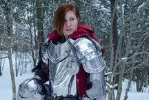 "Women Wearing Sensible Armor / Sensible armor will not only protect the wearer in an epic throw down, but it looks pretty darn awesome too. This is a place for Anomalies to pin photos and fan art of ""women wearing sensible armor""."