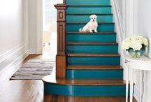 Staircase Storage & Art