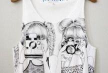 T-Shirts/Tops = ♥