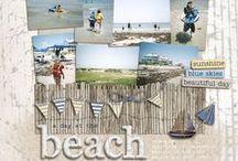 Scrapping beach/camping/holiday