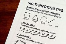 SKETCHNOTING / Explaining things using doodles. :) Part of my future project..comming soon :)