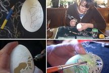 Decorating Easter eggs (TUTORIAL)