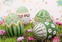 Various Easter eggs (more modern)