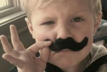Mustaches / For my niece, Nikki! / by Dawn Heiser
