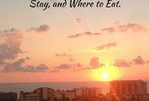 Matkailu / Paikkoja johon haluan mennä, johon olen menossa ja joissa olen jo käynyt