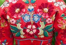 Flora de Chazal / Folk & Popular Art, Textil Art  / by Flora de Chazal