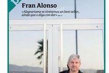 Arquivo literario / Imaxes, documentos, carteis, críticas, entrevistas referencias de Fran Alonso