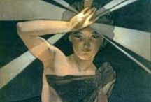 Much ado about Alfonse Mucha. / Art nouveau artist especially of posters