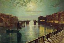 Greeny/Grey Atkinson Grimshaw / Painter of moonlight