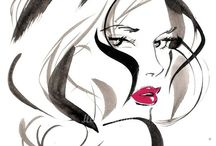 Blissful Jacqueline Bisset / Fashion illustrations& fabulous photo's