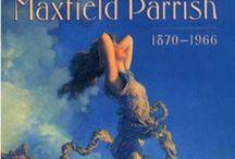 Paradisical Maxfield Parish / Imagineer of just wonderful places & people