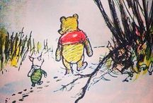 Pooh, Piglet, Eehore & Tigger / So sad If you didn't have these in your childhood