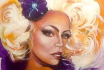 Terrible Terry Glazebrook / My attempts to paint a decent picture whilst I still can. Mainly in Acrylic of diverse subjects from Angels to Drag Queens & all for sale at www.terryglazebrook.co.uk