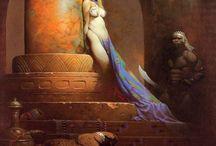 Frighteningly fantastic Frank Frazetta / The first master of fantasy art