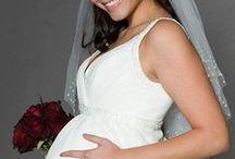 w maternity wedding dress