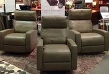 Comfort Recliners by American Leather / For people who take their relaxation seriously...