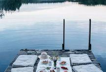 outdoor romantic / Picknick